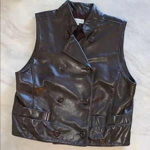*Ann Taylor* 💯% Genuine Leather Vest!
